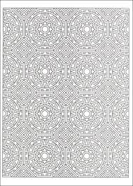 tessellation patterns coloring book additional photo inside page