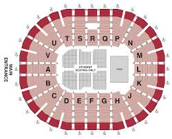 Cricket Amphitheatre Seating Chart Commencement Seating Chart Viejas Arena Official Website