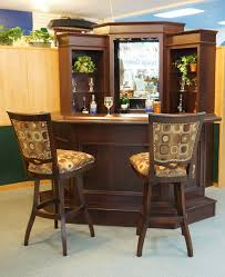Corner Bar by Primocraft with barstools by Tobias Designs