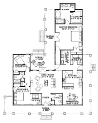 house plans with wrap around porch with one story with one story floor plans with wrap