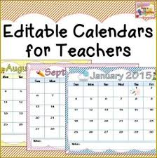 Editable 2015 2020 Calendar 2019 2020 Calendar Printable And Editable Teacher Calendar