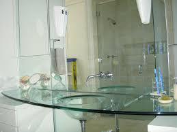 Glass Sink Bathroom 20 Glass Sink Design Ideas For Bathroom Inspirationseekcom