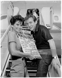 Jazz festival advance, 30 September 1959. Bobby Darin ;Elaine Bruce ....  News Photo - Getty Images