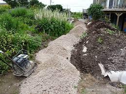 how to build a garden path diy plan