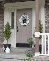 Handwritten Hello or Welcome Front Door Hanger Wreath | Front doors ...