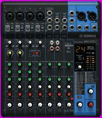yamaha mixer. yamaha mg10xu 10-channel compact stereo mixer \u0026 usb audio interface
