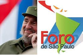 Resultado de imagen para Cuba + Foro de Sao Paulo