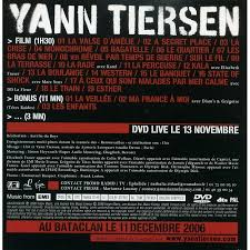 Image result for yann tiersen cd cover