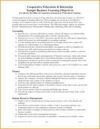 Examples Of Objectives For Resumes With Objective And Education
