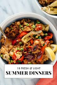 Light Supper Ideas 18 Light Summer Dinner Recipes Cookie And Kate