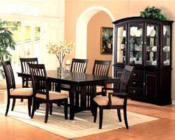 Black Dining Room Set With China Cabinet Picturesque - Dining room table and china cabinet