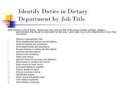 dietary manager job description image result for dietary manager responsibilities nutrition