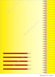templates vector notebook cover stock illustration i at vector notebook cover design red and yellow pencils