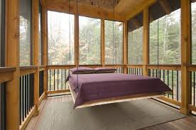 screened porch furniture. view in gallery suspended bed on a screenedin sleeping porch screened furniture
