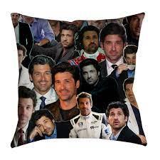 Ian McKellen Photo Collage Pillowcase