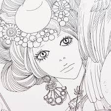 安野モヨコのぬり絵coloriage De Moyoco