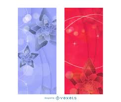 Shiny Creative 2 Brochure Templates With Lotus Vector Download
