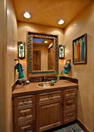 Western Bathroom: Inspiration | Stylish Western Home Decorating.  Southwestern ...