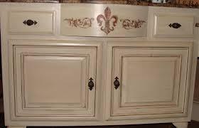 Of Glazed Cabinets Paint Glaze Kitchen Cabinets Buslineus