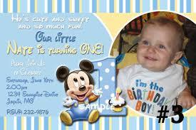 baby mickey mouse invitations birthday mickey mouse first birthday invitations lijicinu 1e05d4f9eba6