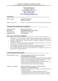 Sample Resume For Pharmacist In The Philippines New Sample