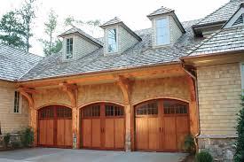 wood garage door ideas