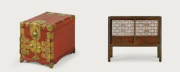 traditional korean furniture. wooden furniture shows honor a korean tradition traditional