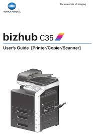 Ana sayfa support download centre. Konica Minolta Bizhub C35 User Manual Pdf Download Manualslib