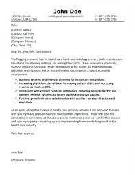 Cover Letters For Resumes Health Care Cover Letter Example Cover
