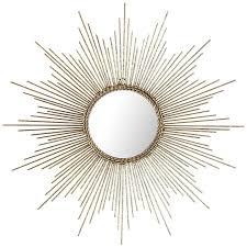 gold sunburst mirror. Gold Or Silver Sunburst Starburst Wall Mirror (Small Large) (Gold, Small H