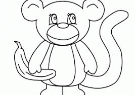 Small Picture Monkey Coloring Pages Coloring4Freecom