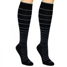 Sockwell Socks Size Chart Sockwell Stripe Circulator 15 20 Mmhg Compression Socks 2 Pack