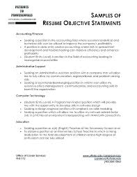 what to write in resume objective writing a resume objective examples of career objectives for resumes
