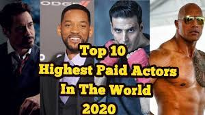 highest paid actors of 2019 2020