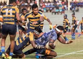 sri lanka navy have suspended four of it s rugby players who were wearing yo 7 arm bands to show solidarity to detained former president s son