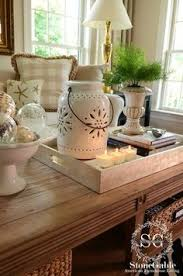 How To Decorate A Coffee Table Tray How to Make Your Home Look Less Cluttered Interior styling 34