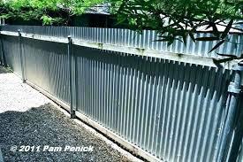 corrugated metal privacy fence. Wonderful Metal Metal Privacy Fence Corrugated Steel With  Vs Wood And Corrugated Metal Privacy Fence E