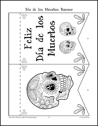 Small Picture Da de los Muertos Crafts and Coloring Pages Warm Hearts Publishing