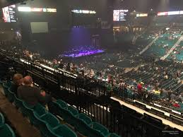 concert seat view for mgm grand garden arena section 209