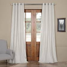 extra wide curtain panels unique silver grommet curtains u0026amp drapes window treatments extra wide curtain panels l74