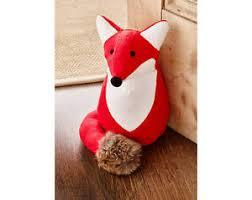 Image is loading Fox-Door-Stop-Heavyweight-Animal-Cute-Home-Prop-