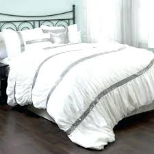 white silver bedding black and silver bedding picture fantastic sets white
