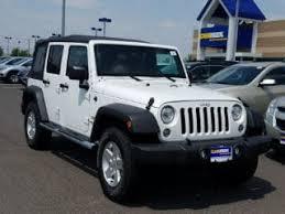 jeep wrangler white. Interesting White White 2017 Jeep Wrangler Unlimited Sport For Sale In Newark DE Throughout