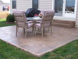 Patio 25 Concrete Patio Ideas Concrete Patio Ideas For Small