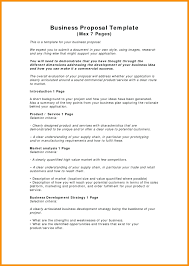 Free Sample Business Proposals Template Business Proposal Template Examples 14