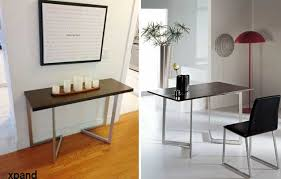 Compact Console To Dining Table