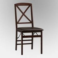 linon tremont x back folding dining chair 2 chairs walmart