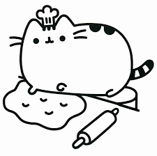 Great Girl Coloring Pages Cute Anime Chibi Cat Girls Page