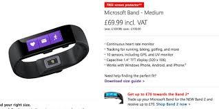 Microsoft Band 2 Size Chart Microsoft Band 2
