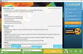 Tlauncher 2 6 Download Free Launcher For Minecraft Minecraft 1 How To Play Minecraft Texture Packs
